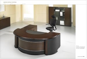 Leather Decoration Office Executive Office Desk
