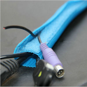 Reusable Cable Harness Protection Sleeve Wrap with Hook Loop loop wire harness wiring diagrams  at eliteediting.co