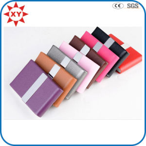 New Product Leather Craft Business Card Case for Woman pictures & photos