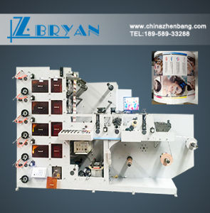 IR+UV Dryer Cheap Flex Printing Machine with High Quality Price, Flexible Printing Machine, Flexo Printing Machinery for Sale pictures & photos
