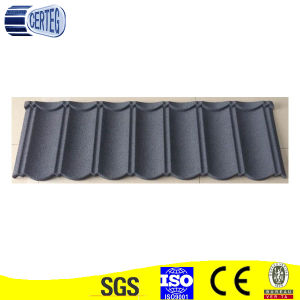 Color Stone Coated Metal Roof Tiles/Single layer pictures & photos
