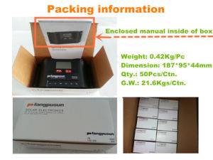 Pr3030 Solar Charge Controller 12V 24V pictures & photos