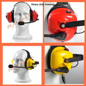Two-Way Radio Heavy Duty Headset Noise Cancelling pictures & photos