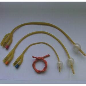 Latex Foley Catheter with CE FDA (1-way, 2-way, 3-way, 4-way) pictures & photos