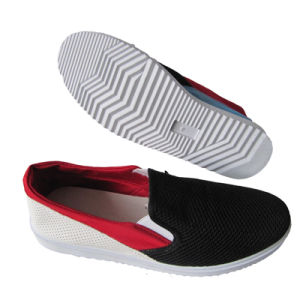 Mesh Lining Material and Men Gender Latest Model Sport Shoes pictures & photos