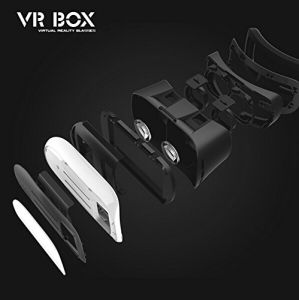 Vr Box 2.0 Virtual Reality Glasses, 2016 3D Vr Headsets with Bluetooth Remote Controller for 4.7~6 Inch Screen Phones iPhone 4S, iPhone 5s Samsung LG Sony HTC pictures & photos