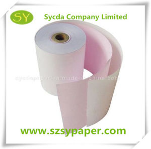 2-Ply 55g Carbonless Cash Register Paper Roll pictures & photos