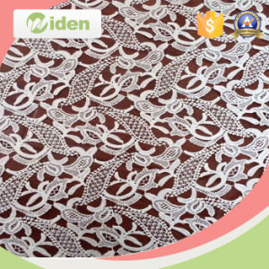 African Fabrics High Quality 5 Yards Tulle Chemical Lace Fabric pictures & photos