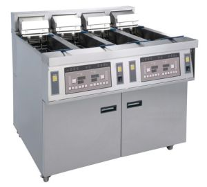 2015 New Design Electric Open Fryer (4 tanks, 4 baskets) Ofe-56A pictures & photos