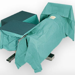 Surgical Drapes Use Spunlace Nonwoven Fabric Very Breathable pictures & photos