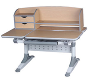 Istudy Healthy Learning Adjustable Pupil School Desk Wooden Products pictures & photos