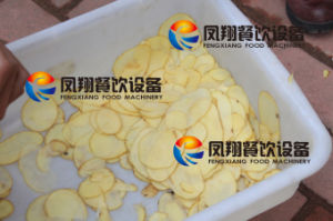 Large Type Potato Chips Cutting Machine, Potato Pieces Cutting Machine pictures & photos
