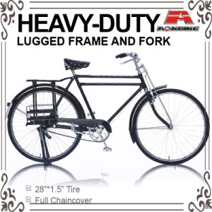 28 Inch Double Top Tube Heavy-Duty Traditional Bicycle for Gent (AYS-2804S) pictures & photos