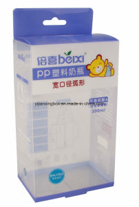 Plastic Packaging Box with Handle PP Custom Printed for Feeding Bottle pictures & photos