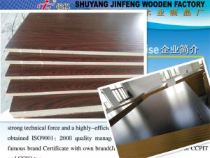 Both Sides Melamined MDF for Furniture pictures & photos