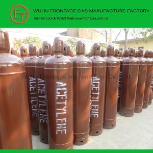 High Purity Steel Cylinder Dissolved Acetylene Gas pictures & photos
