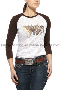 Female Cheap Tc T-Shirts (ELTWTJ-298) pictures & photos