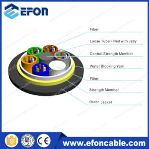Hot Sale FRP Strength Member 24core ADSS Optical Fiber Cable pictures & photos