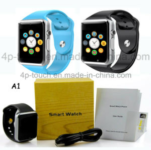 Hot Selling Colorful Screen Smart Watch Phone with Mtk6261 Chip A1 pictures & photos