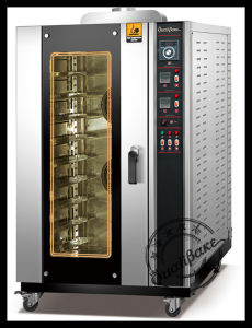 Steam System Hot-Air Circulation Function Oven for Loave Bread, Biscuit, Cookies, Freach Bread, Ect.