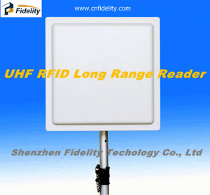 Car Parking UHF RFID Built-in 12dBi Antenna Reader