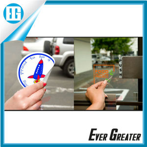 Customized Static Cling Window Decals OEM pictures & photos