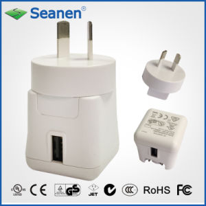 5VDC 2A White Color Travel Charger with Aus/SAA AC Pin pictures & photos