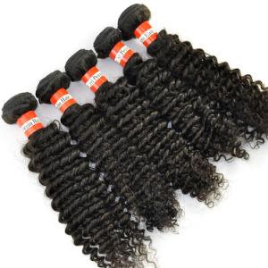Peruvian Virgin Hair Extensions Kinky Curly Grade 5A Human Hair pictures & photos