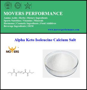Supply High Quality Nutrition Supplement Alpha Keto Isoleucine Calcium Salt pictures & photos