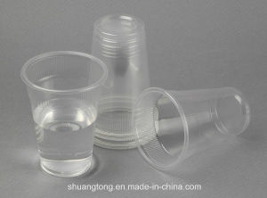PP, PS Clear Plastic Cups Drinking Cups Water Cup pictures & photos