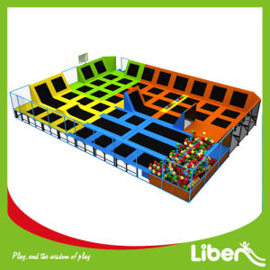 Big Project Indoor Playground Equipment with Trampoline Park for Amusement pictures & photos