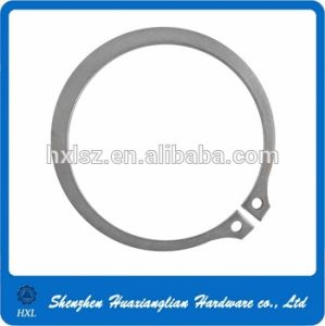 DIN 471/472 Stainless Steel Circlips for Shaft Bore pictures & photos