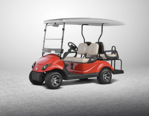 Solar Energy 4 Seats Electric Golf Car, CE Certificate pictures & photos