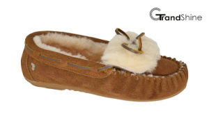 Women′s Casual Flat Moccasions Loafers pictures & photos