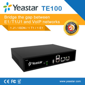 Yeastar Neogate Te 200 with One Pri Port VoIP E1/T1/J1 Gateway (NeoGate TE100) pictures & photos