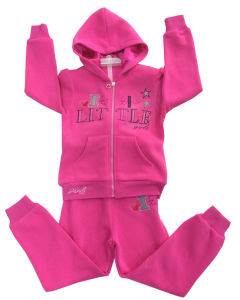High Quality Fleece Children Hoody with Embroidery in Children Clothes for Sport Suits Swg-102 pictures & photos