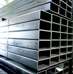 Hot Selling Hot Dipped Galvanized Welded Rectangular/Square Steel Pipe/Tube pictures & photos