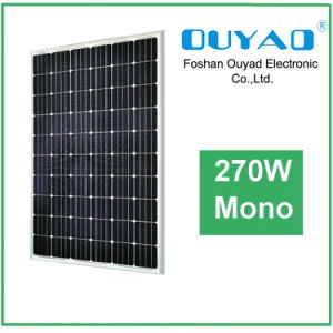 Mono Solar Panel 270W High Efficiency and High Reputation Solar Panel pictures & photos