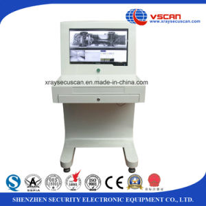 weatherproof under ground car inspection scanner for highway entrance pictures & photos
