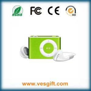New Top-Rated Gift Christmas Gift MP3 Player with Mini Clip pictures & photos