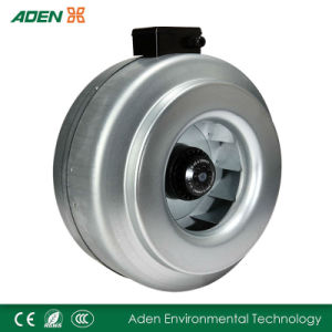High Air Velocity Round in-Line Air Extractor Fans
