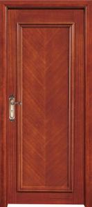 Latest Design Aluminum Wood Door, Mother and Son Door, Main Door (CL-D2012) pictures & photos