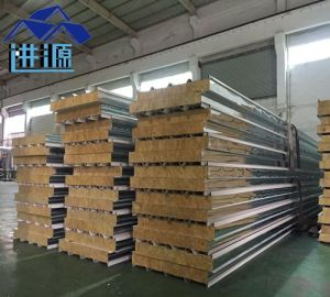 Fireproof Rock Wool Sandwich Panel
