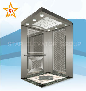 Economical Passenger Elevator with Mirror Etched Stainless pictures & photos