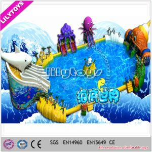 Super Giant Inflatable Ground Water Amuse Park pictures & photos