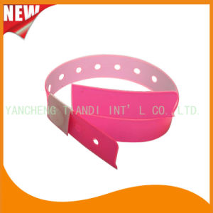 Entertainment 1 Tab Vinyl Wristbands ID Bracelet (E6070-1-11) pictures & photos