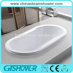 Oval Indoor Built in Acrylic Bath Tub (BL1016P) pictures & photos