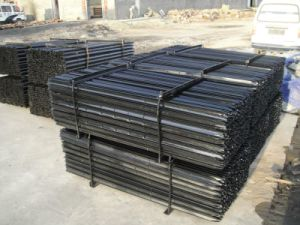 Black Pinted Steel Star Picket 2.04kg Anping Factory pictures & photos