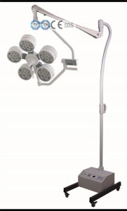 Yd02-LED4s Mobile Shadowless Operating Lamp pictures & photos