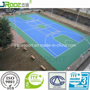 Good Quality Outdoor Rubber Basketball Court pictures & photos